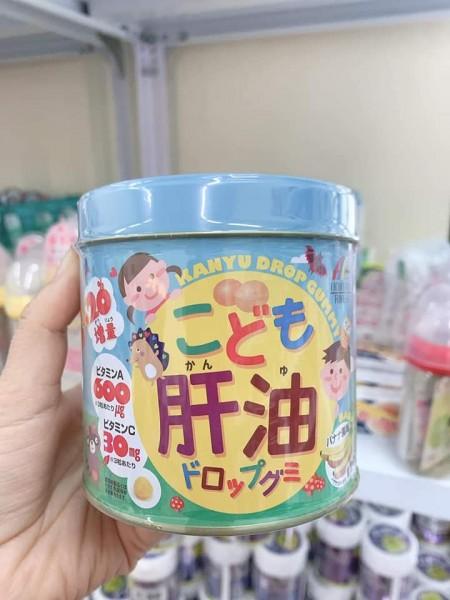 kẹo nang mềm biếng ăn DHA, Vitamin tổng hợp cho bé